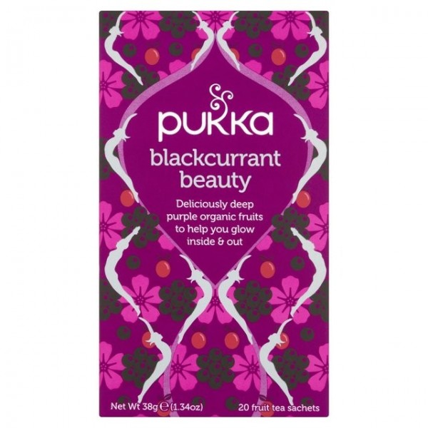 Pukka Blackcurrant Beauty Tea