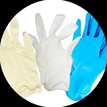3 Pairs Plastic Gloves